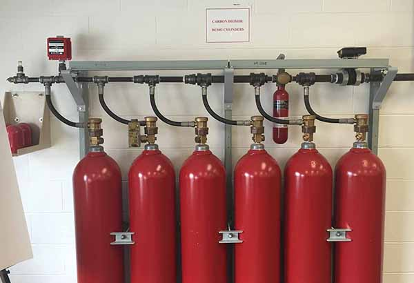 Keystone Fire Protection installs high-pressure CO2 fire protection systems